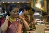 Indian Gold futures edge higher from 1-month low